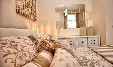 Sleep well in our luxury bedrooms