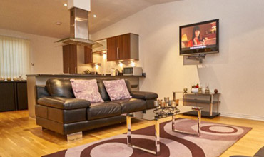 Relax in our spacious living rooms