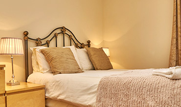 Sleep well in our luxury bedrooms